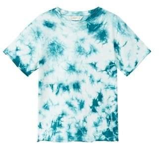 MANGO Printed tie-dye t-shirt
