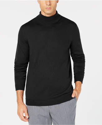 Tasso Elba Men's Merino Wool Turtleneck Sweater