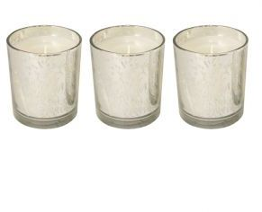 Blissliving Home Patina Glass Votives