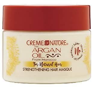 Crème of Nature with Argan Moisturizing milk masque repairing treatment
