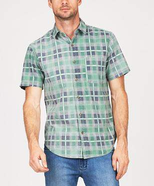 Insight Roadie Short Sleeve Shirt Wash Green