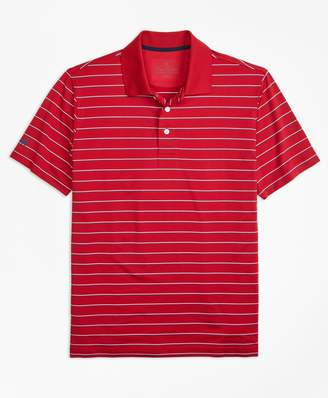 Brooks Brothers Performance Series Multi-Stripe Polo Shirt