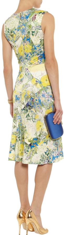 Erdem Treasa floral-print stretch-jersey dress