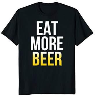 DAY Birger et Mikkelsen Eat More Beer T-Shirt St Patrick's Shirt