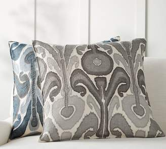 Pottery Barn Kenmare Ikat Embroidered Pillow Covers