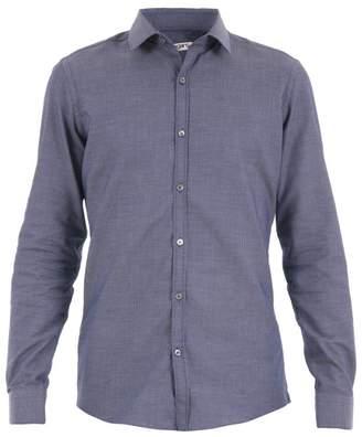 Ungaro Slim Fit Cotton Jacquard Shirt