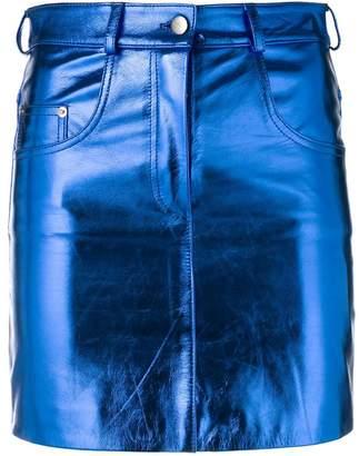 Manokhi metallic mini skirt