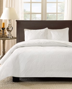 Madison Home USA Corrine 3-Pc. Quilted King/California King Coverlet Set Bedding