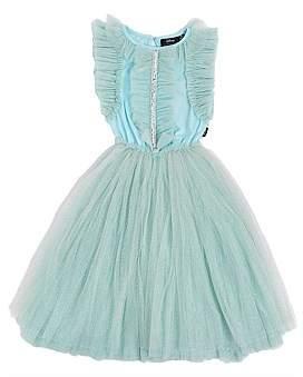 Rock Your Kid Disney Princess Elsa Embroidered Tulle Dress (Girls 3-8)