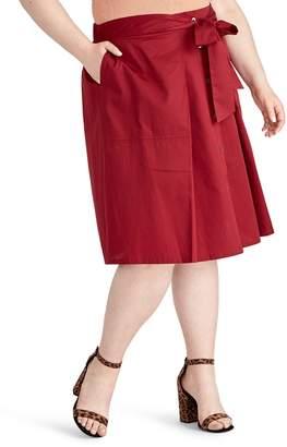 Rachel Roy Neo Tie Front Skirt