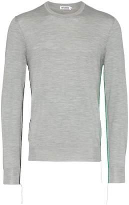 Jil Sander wool crew neck sweater