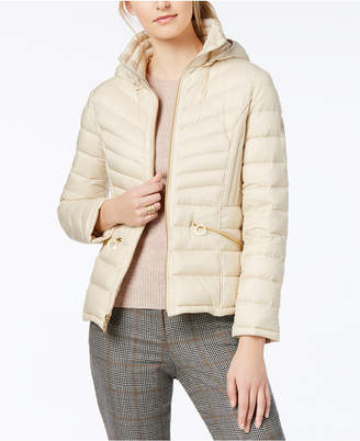 Michael Kors MICHAEL Hooded Packable Down Coat