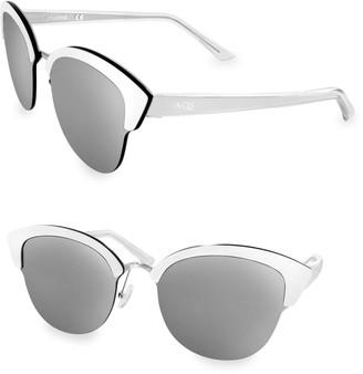 Cat Eye Aqs SERENA 70MM Sunglasses