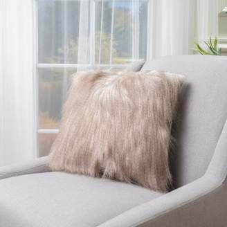Noble House Victoria Cinnamon Fabric Pillows (Set Of 2)