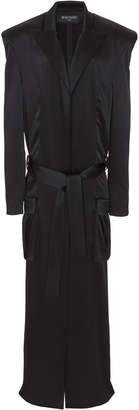 Balmain Satin Duster Coat