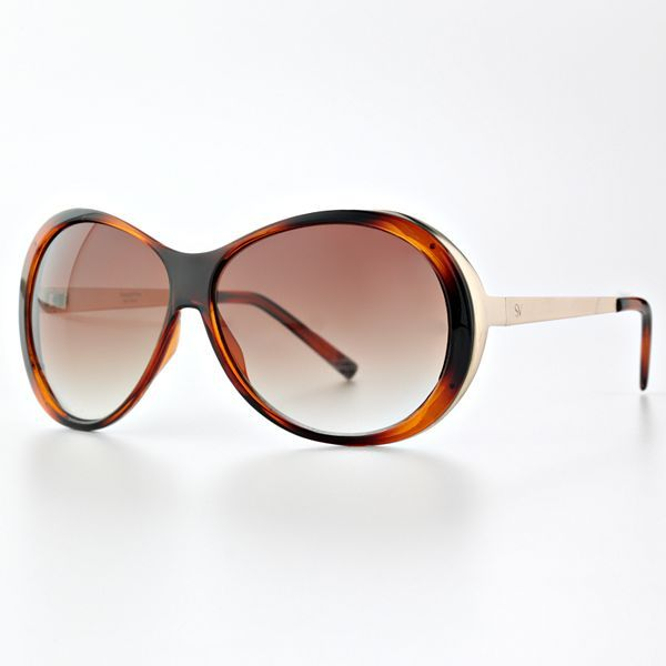 Simply Vera Vera Wang Oval Sunglasses