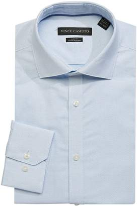 Vince Camuto Slim-Fit Chevron Dress Shirt