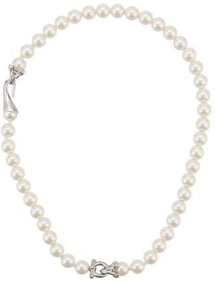Salvatore Ferragamo Swarovski pearl necklace