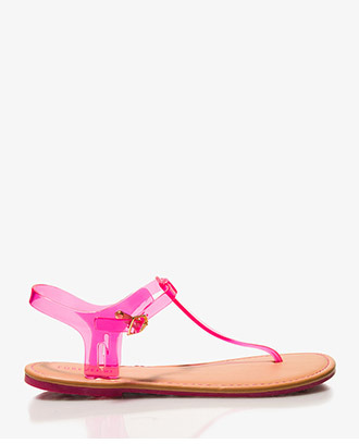 Forever 21 Clear Thong Sandals
