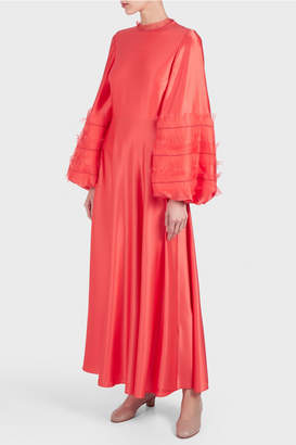 Roksanda Kamau Long Sleeve Dress