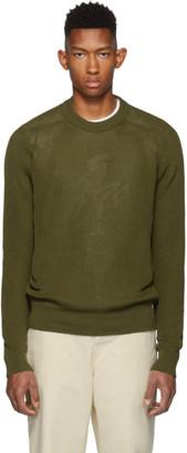 Ami Alexandre Mattiussi Green Fishermans Sweater