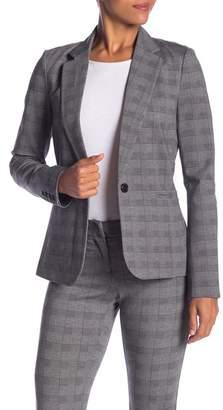 Glenn Amanda & Chelsea Plaid Fitted Blazer Jacket