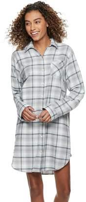 bdc933e71d Sonoma Goods For Life Women s SONOMA Goods for Life Flannel Sleepshirt