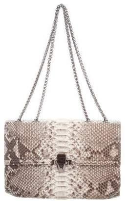 Kara Ross Python Flap Bag