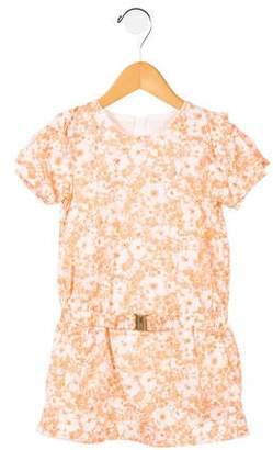 Chloé Girls' Printed Woven Dress