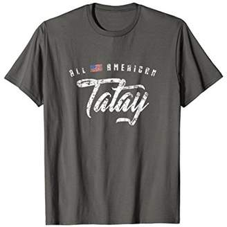 Mens All American Tatay Shirt
