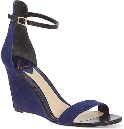 Brian Atwood B By Roberta wedge sandals