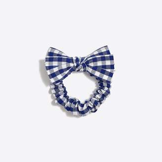 J.Crew Factory Bow-top scrunchie