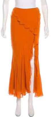 Christian Dior Silk Skirt