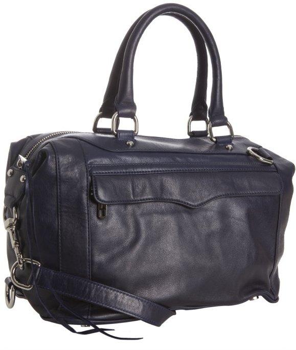 Rebecca Minkoff navy leather 'MAB' satchel