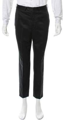 Saint Laurent Flat Front Skinny Pants
