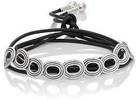 Pamela Love Women's Saturn Collar-Silver