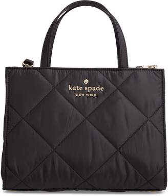 Kate Spade Watson Lane - Quilted Sam Leather Satchel