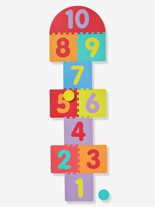 Vertbaudet Foam Mat with Hopscotch & Puzzle + 2 Pucks