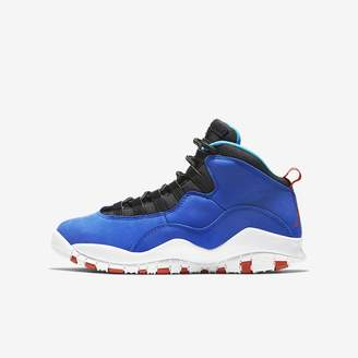Jordan Air Retro 10 (3.5y-7y) Big Kids' Shoe
