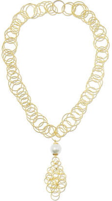 Buccellati Hawaii 18-karat Gold Pearl Necklace - one size