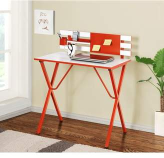 Pilaster Designs Nina Wood and Metal Kids Desk and Writing Table, Multiple Colors