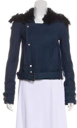 Rachel Zoe Long Sleeve Belted Jacket