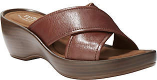 Eastland Leather Wedge Sandals - Candace