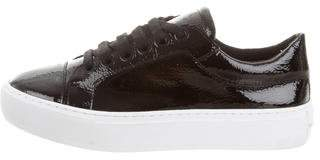 Rebecca Minkoff Patent Leather Low-Top Sneakers