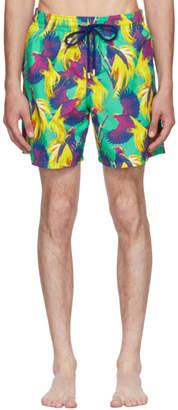 Vilebrequin Multicolor Moorea Birds Of Paradise Swim Shorts