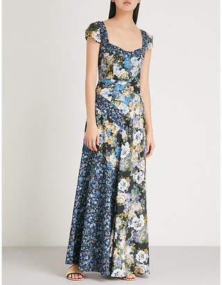 Free People La Fleur crepe maxi dress