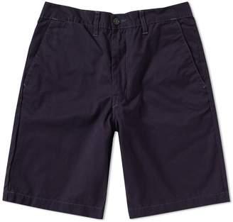 Post Overalls Menpolini Contrast Stitch Overdye Short