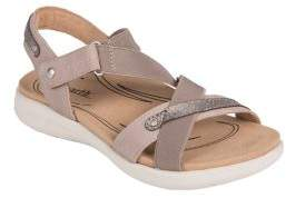 Earth Bali Leather Ankle-Strap Sandals
