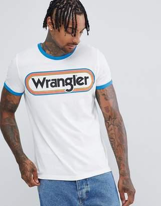 Wrangler Logo Ringer T-Shirt