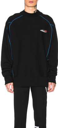 Calvin Klein Scuba Jaws Sweatshirt in Black | FWRD